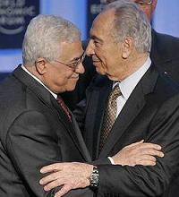 Abbas with Peres
