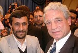 Toben with Ahmadinejad